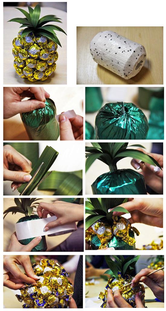 Конфетный ананас