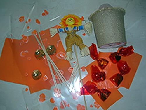 Весенний Конфетный букет Солнышко
